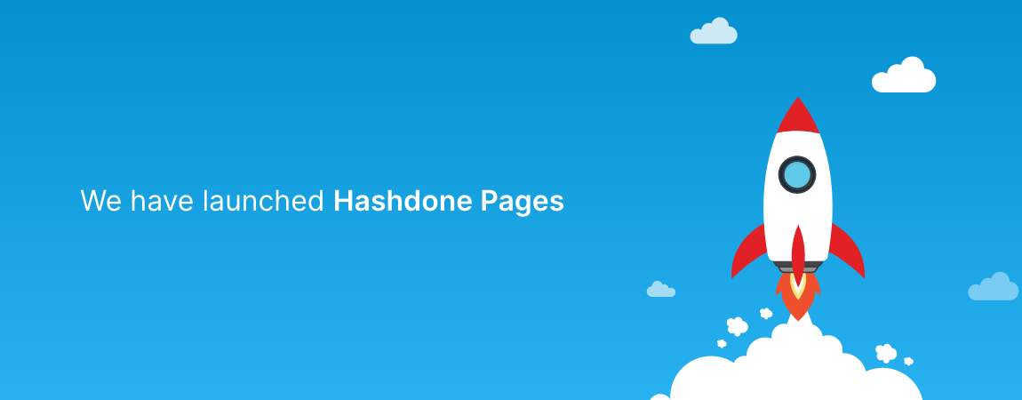 Hashdone Pages - Create your product help center page